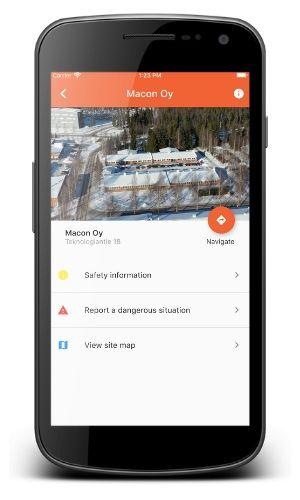 SiteSafety app.